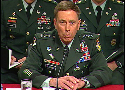 General Petraeus was a 4 star U.S. general and former Central Intelligence Director.